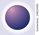 vector background of an... | Shutterstock .eps vector #140014081