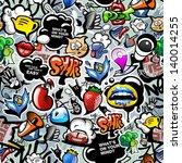 Graffiti Seamless Texture With...