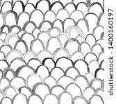 artistic seamless pattern. hand ... | Shutterstock . vector #1400160197