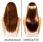 Постер, плакат: Hair Before and After