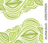 beautiful green background.... | Shutterstock .eps vector #1400195024