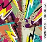 grunge geometric pattern for...   Shutterstock .eps vector #1400208761