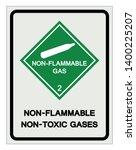 non flammable non toxic gases... | Shutterstock .eps vector #1400225207