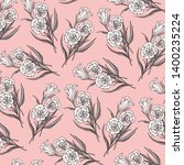 fashionable pattern in small... | Shutterstock .eps vector #1400235224