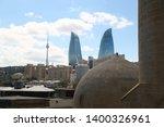 azerbaijan  baku circa may 2019 ... | Shutterstock . vector #1400326961