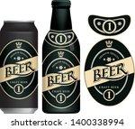 vector label for craft beer in...   Shutterstock .eps vector #1400338994