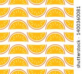 orange fruit vector seamless... | Shutterstock .eps vector #1400360081