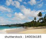 rincon beach  samana peninsula  ... | Shutterstock . vector #140036185