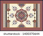 colorful ornamental vector... | Shutterstock .eps vector #1400370644