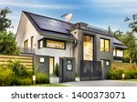 Beautiful Modern House With...