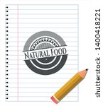 natural food draw  pencil... | Shutterstock .eps vector #1400418221