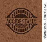 accidentally vintage wood... | Shutterstock .eps vector #1400511461