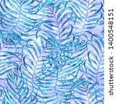 tropical seamless pattern.... | Shutterstock . vector #1400548151