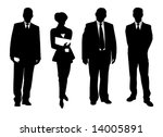 set of business people | Shutterstock . vector #14005891