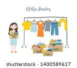 modern flat vector illustration.... | Shutterstock .eps vector #1400589617