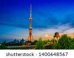 tashkent television tower seen... | Shutterstock . vector #1400648567