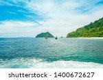 boat on the beach. summer... | Shutterstock . vector #1400672627