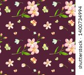 watercolor seamless pattern...   Shutterstock . vector #1400734994