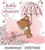 Baby Shower Card   Baby Girl...