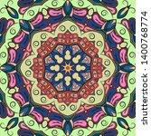seamless tracery tile mehndi...   Shutterstock .eps vector #1400768774