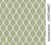 seamless leaves vector... | Shutterstock .eps vector #1400768807