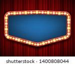 creative illustration of retro... | Shutterstock . vector #1400808044