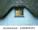Thatched Cottage Roof And...