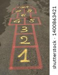 Hopscotch Popular Street Game...