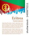 flag of eritrea  state of... | Shutterstock .eps vector #1400875211