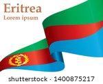 flag of eritrea  state of... | Shutterstock .eps vector #1400875217