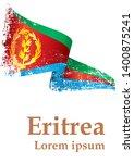 flag of eritrea  state of... | Shutterstock .eps vector #1400875241