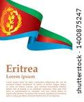 flag of eritrea  state of... | Shutterstock .eps vector #1400875247