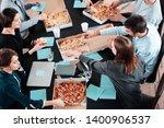 multiracial group of... | Shutterstock . vector #1400906537