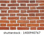 texture wall of red obsolete... | Shutterstock . vector #1400940767