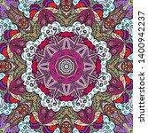 seamless tracery tile mehndi...   Shutterstock .eps vector #1400942237
