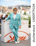 """Small photo of CANNES, FRANCE - MAY 16, 2019: Sir Elton John attends the photocall for """"Rocketman"""" during the 72nd annual Cannes Film Festival"""