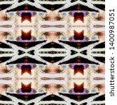 tibetan fabric. abstract batik... | Shutterstock . vector #1400987051