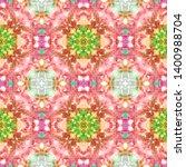 tibetan fabric. abstract... | Shutterstock . vector #1400988704