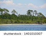 the coast of gulf breeze in... | Shutterstock . vector #1401010307