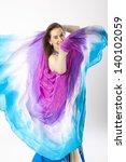 belly dancer woman | Shutterstock . vector #140102059