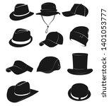hat icons set.vector   vector...   Shutterstock .eps vector #1401053777
