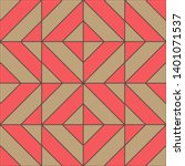 geometric seamless pattern....   Shutterstock .eps vector #1401071537