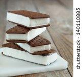 ice cream sandwich | Shutterstock . vector #140110885