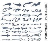 illustration of grunge sketch... | Shutterstock .eps vector #1401160301