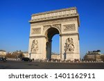 triumphal arch  one of the most ... | Shutterstock . vector #1401162911