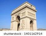 triumphal arch  one of the most ... | Shutterstock . vector #1401162914