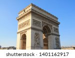 triumphal arch  one of the most ... | Shutterstock . vector #1401162917