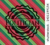 politician christmas colors...   Shutterstock .eps vector #1401199154