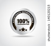 silver label. premium quality.... | Shutterstock .eps vector #140120215