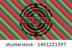 philosopher christmas emblem...   Shutterstock .eps vector #1401221597